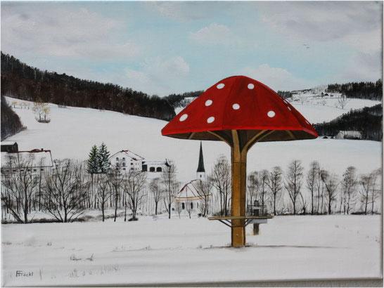 """Nr. 145 Dorfen, Aussichtspunkt """"Schwammerl"""""""