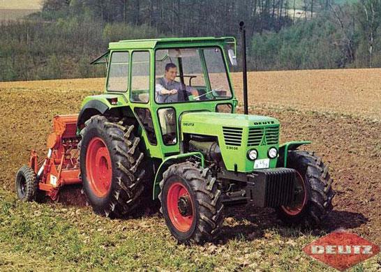Deutz 8006 6-Zylinder Traktor
