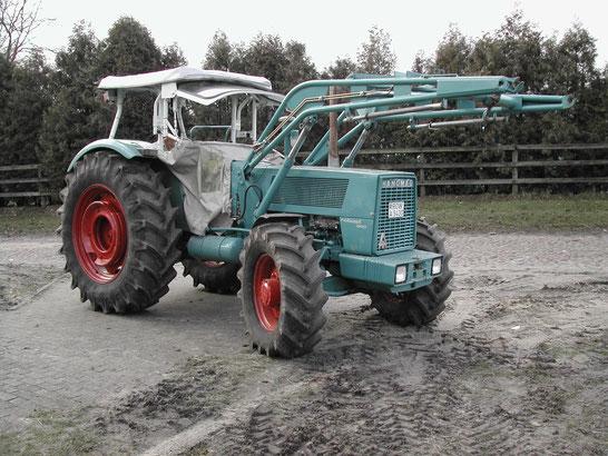 Hanomag Robust 901 6-Zylinder Traktor