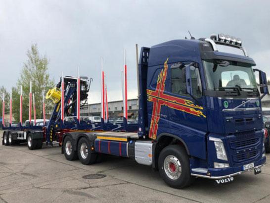 Schönwetter wir gestallten Ihren Volvo Truck um