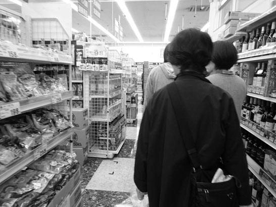 営業を開始した店舗での行列 / スリープキューブ和多屋