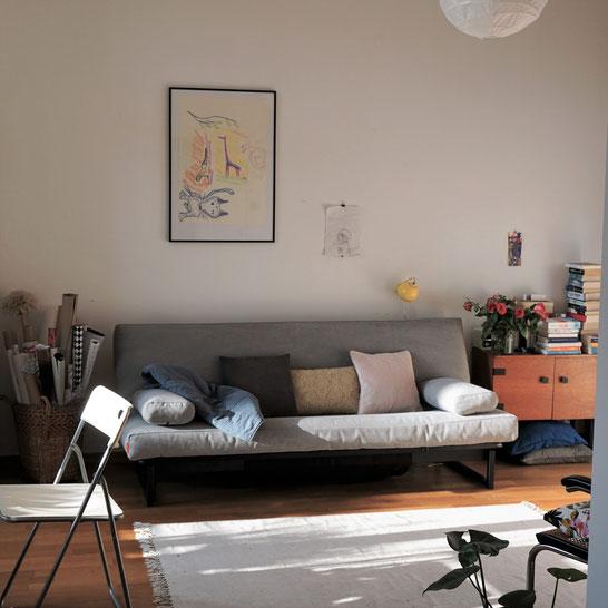 Mehr Platz, bitte! Ein Sofabett kann helfen...
