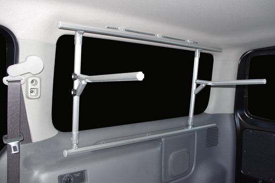 NV350キャラバン用の室内キャリアです。収納アイテムとして人気