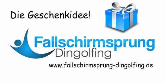 Die Geschenkidee! Ein Fallschirmsprung über Bayern mit Edi Engl aus Amberg in der Oberpfalz. Fallschirmspringen München, Regensburg und Landshut mit Tandemfun.