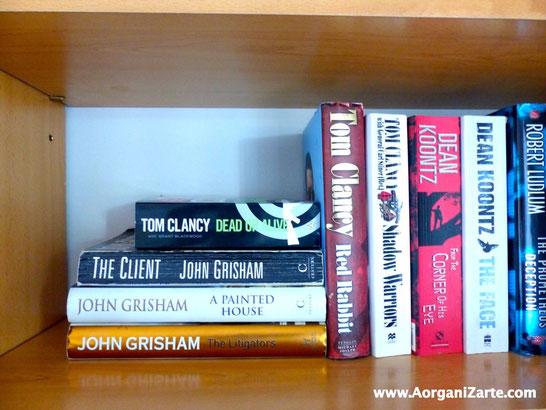 Organiza tus libros - AorganiZarte