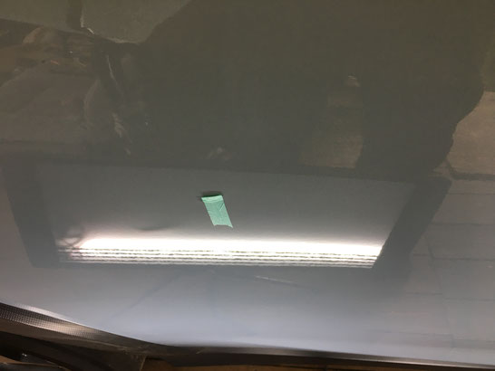 スバルXV ドアの凹み修理後