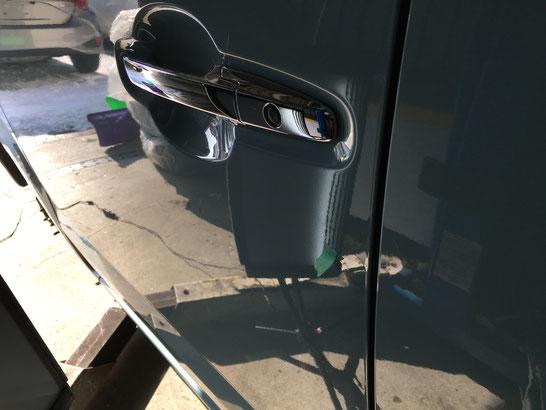 Nボックス凹み修理