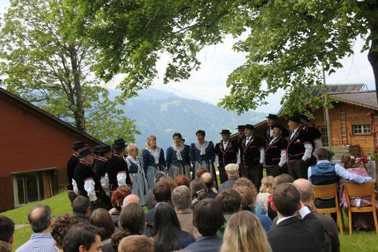 Hochzeit Annekäthi & Oliver Börner am 30.Mai 2015 in Beatenberg