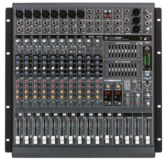MACKIE PPM1012 | 音響機材レンタル-株式会社RKBへ