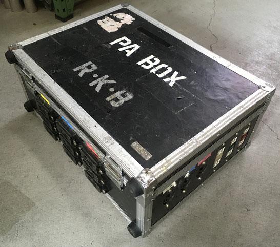 C型電源BOX (100V30A9回路)