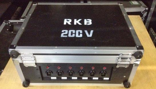 D型電源BOX (200V20A6回路)