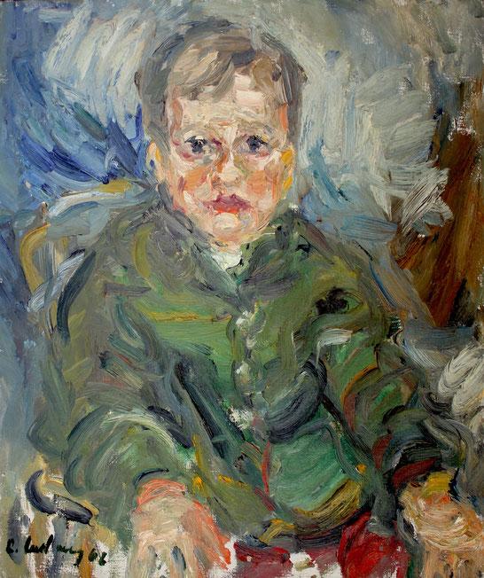 Eckart Holzboog   1962, Öl auf LW