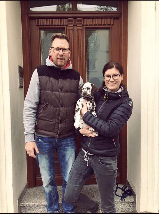 Jerry Lewis vom Furlbach (jetzt Mo) ist in die Nähe von Magdeburg gezogen... 8 Wochen alt