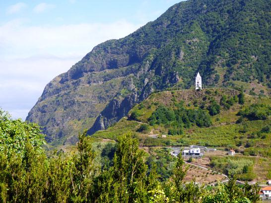 Madeira - Glockenturm Fatima Kapelle
