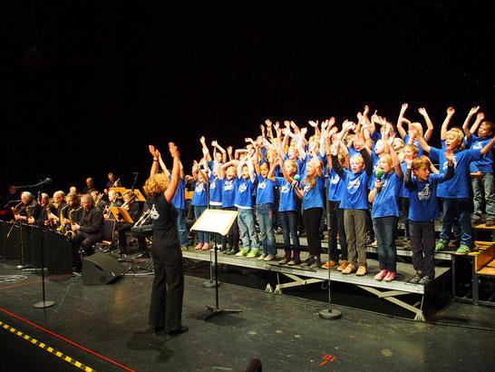 2014 - Gemeinsames Konzert im Stadeum mit der Carlshamn Punch Band aus Schweden