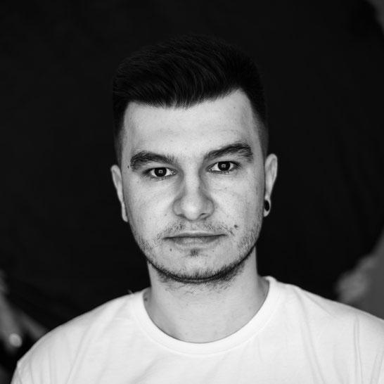 Selbstportrait Sebastian Pintea