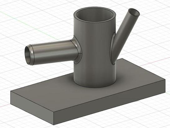 Autodesk Fusion 360のモデリング