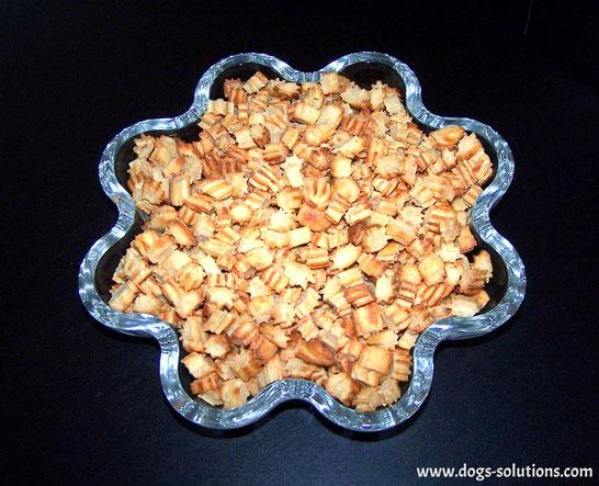 Biscuits sans gluten pour chiens au poulet prêt à déguster