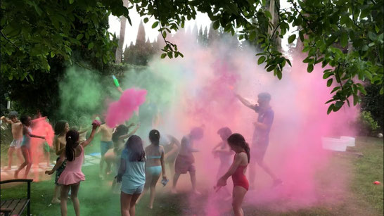 Holy color party per bambini Roma