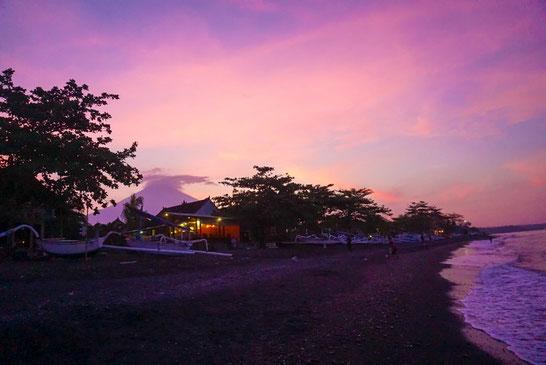 Sonnenuntergang in Amed