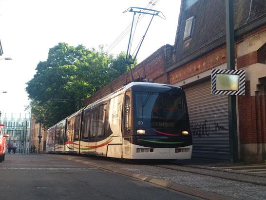tramway à Tourcoing