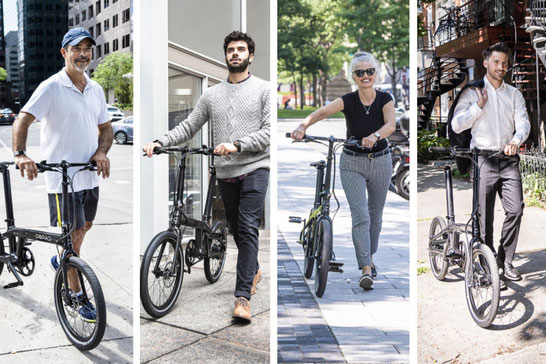 Carbo Foldable City E-bike