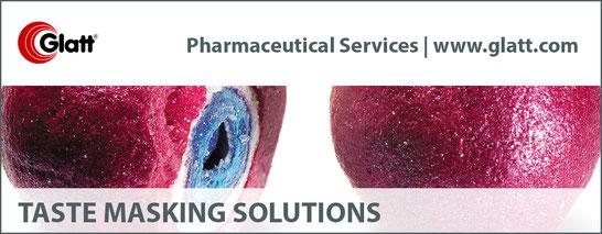 Taste Masking multiparticulates pediatric glatt pharmaceutical services