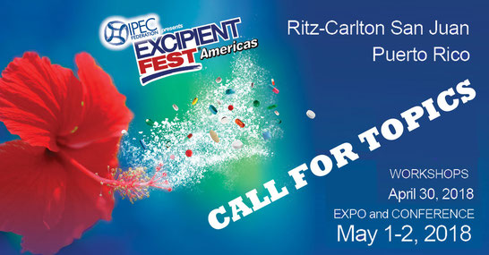 call for topics excipientfest 2018