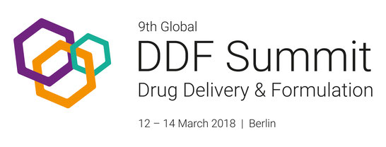Logo and Dates for Drug Delivery and Formulation Summit 2018