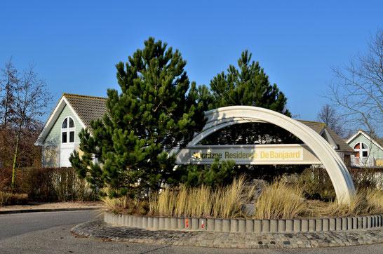 Einfahrt Ferienpark Noordzee Residénce De Banjaard