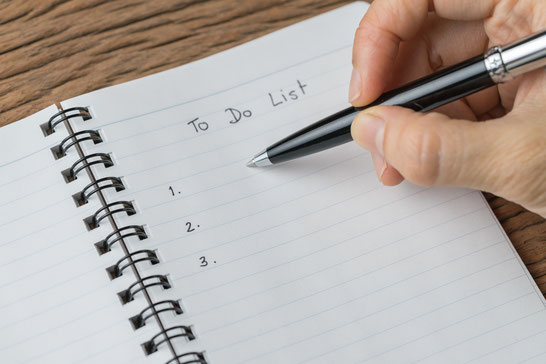 1日の仕事の段取りを考える~TODOリストのイメージ~