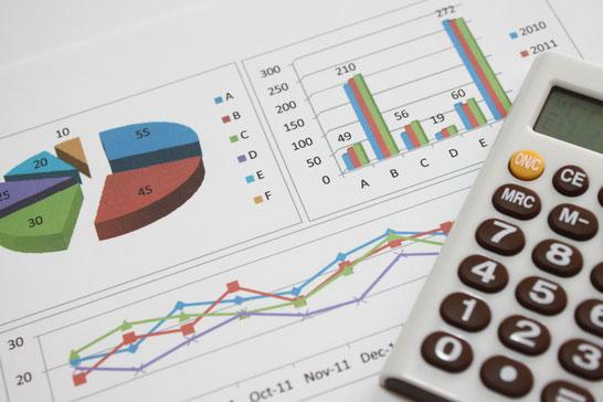 ローカルベンチマークの財務資料のイメージ