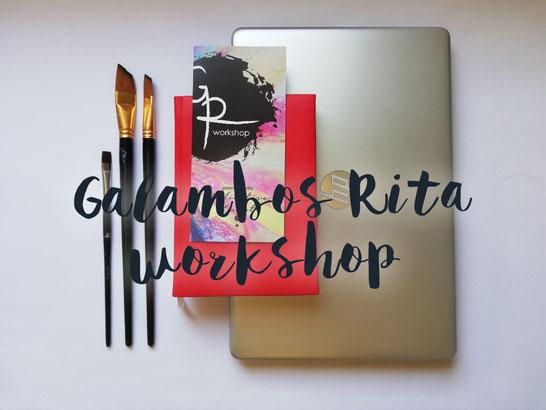 Galambos Rita workshop festő grafikus illustrator corporate design, contemporary artist, kortárs magyar művész, akrilfeső, Feldkirch, Vorarlberg, Austria