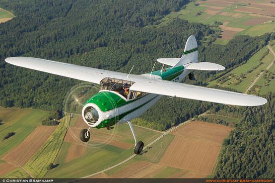 Cessna C195A - N1567D