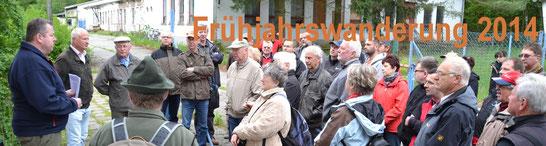 Bild: Seeligstadt Heimatverein Frühjahrswanderung Teichler 2014