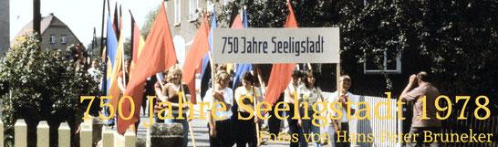 Bild: Seeligstadt Sachsen 750-Jahrfeier  1978