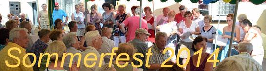 Bild: Seeligstadt Heimatverein Sommerfest 2014