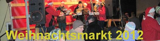 Bild: Seeligstadt Sachsen Weihnachtsmarkt 2012