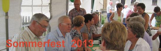 Bild: Seeligstadt Heimatverein Sommerfest 2013 Teichler