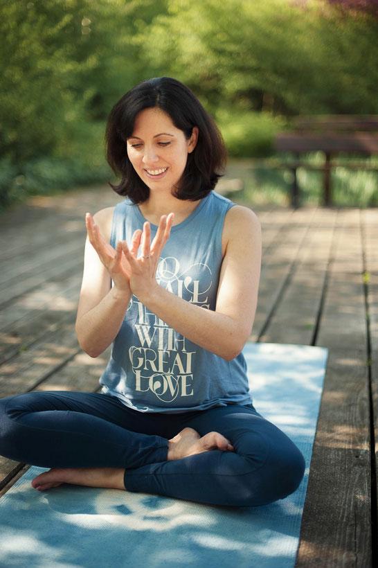 Dankbar: MOMazing-Gründerin & Prä- und Postnatal-Yogalehrerin Kathrin Mechkat