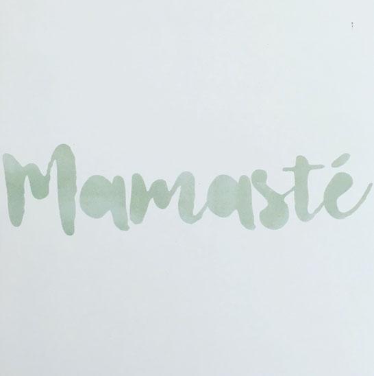 Mama Yoga Blog MOMazing sagt Hallo: Mamasté.