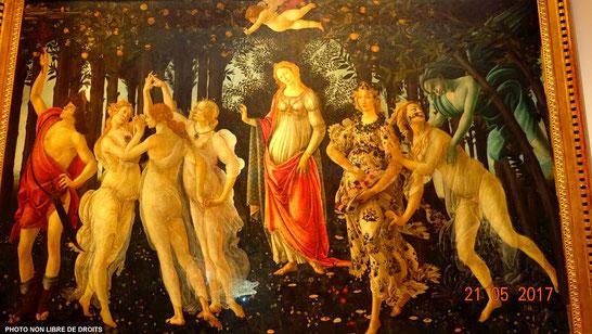 Le Printemps, Botticelli, Florence
