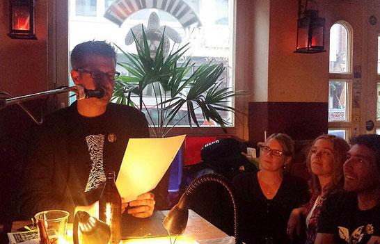 Autorenlesung Tortuga Bar, Hamburg 30.06.2017