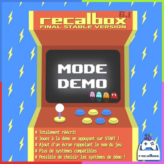 Recalbox mode demo