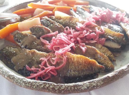 秋刀魚 ピクルス