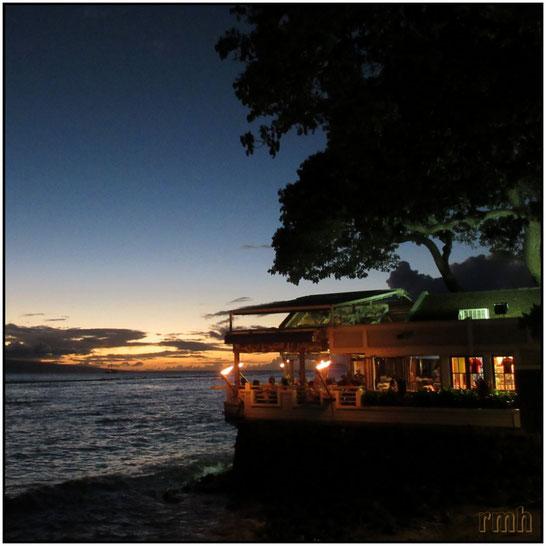 Sundowner in Lahaina, Maui, HI