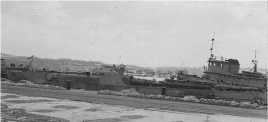 """S 706"" im Washington Navy Yard in Washington, DC- Foto: US National Archives, College Park, Maryland, USA"
