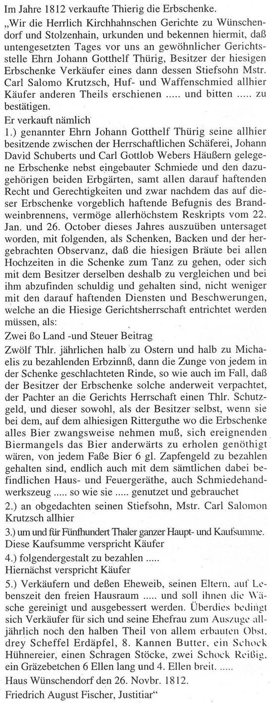 Bild: Teichler Wünschendorf Erzgebirge Gasthof Göckeritz