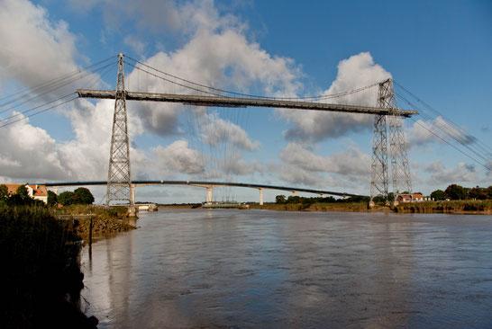 Rochefort, Charente maritime, pont transbordeur, viaduc, charente