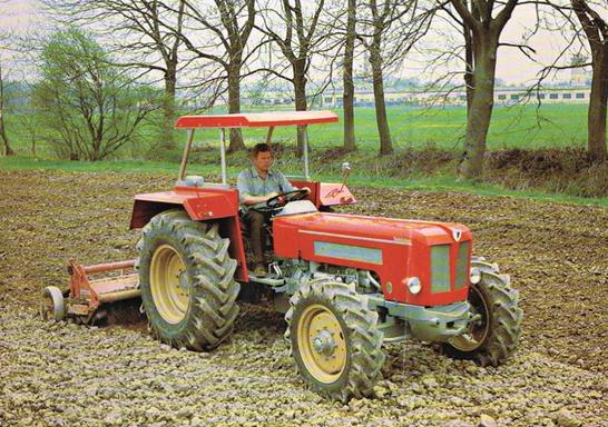 Schlüter Super 850V 6-Zylinder Traktor